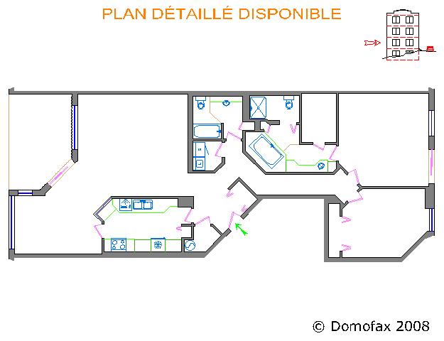 domofax plan typique r sidentiel